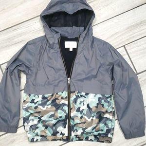 """Gymboree """"go outside"""" zip up jacket"""